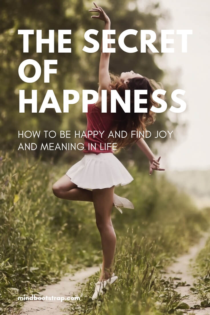 The Secret of Happiness: How to Be Happy and Find Joy and Meaning in Life