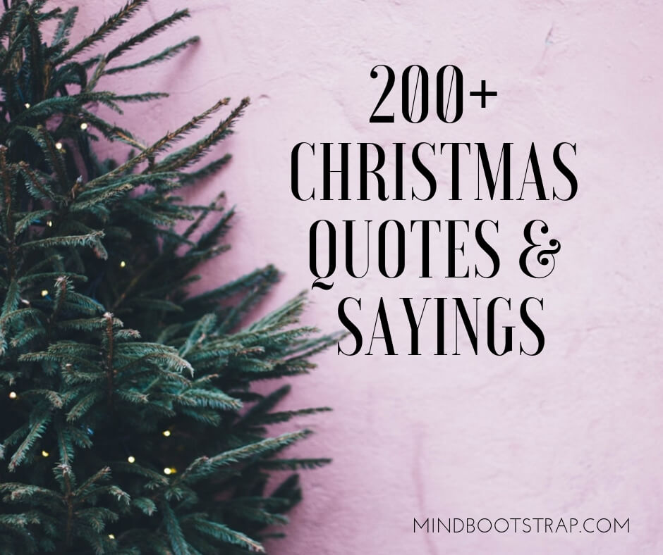 200+ Christmas Quotes and Sayings to Inspire Your Greetings