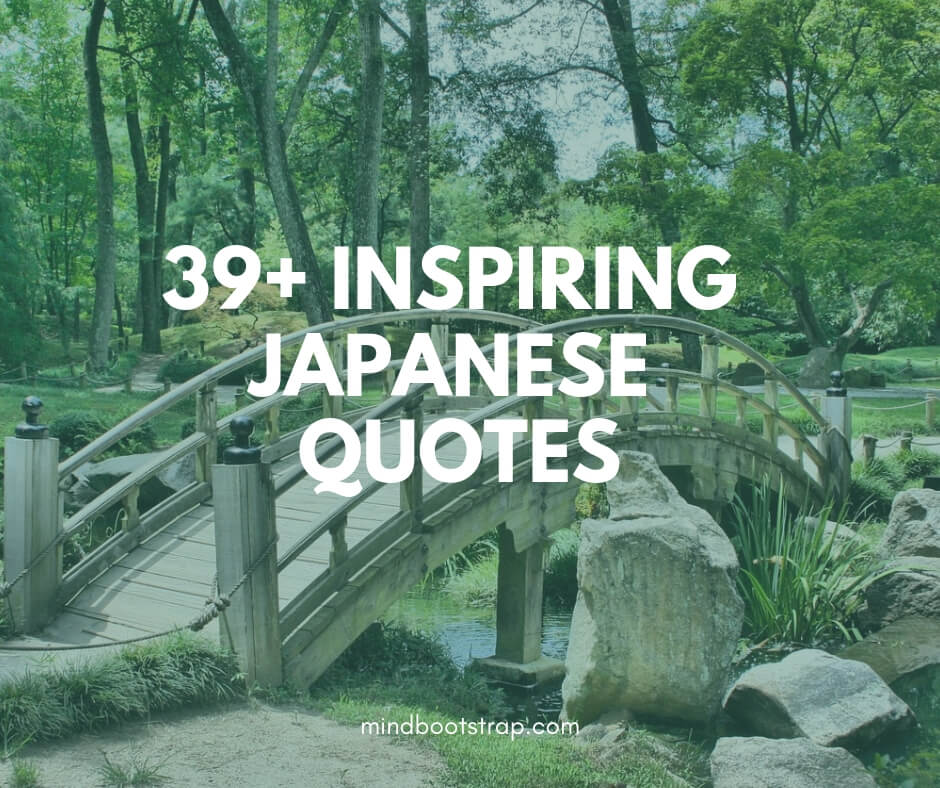 best Japanese quotes, sayings and proverbs