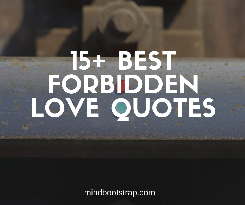 Best Forbidden Love Quotes & Sayings