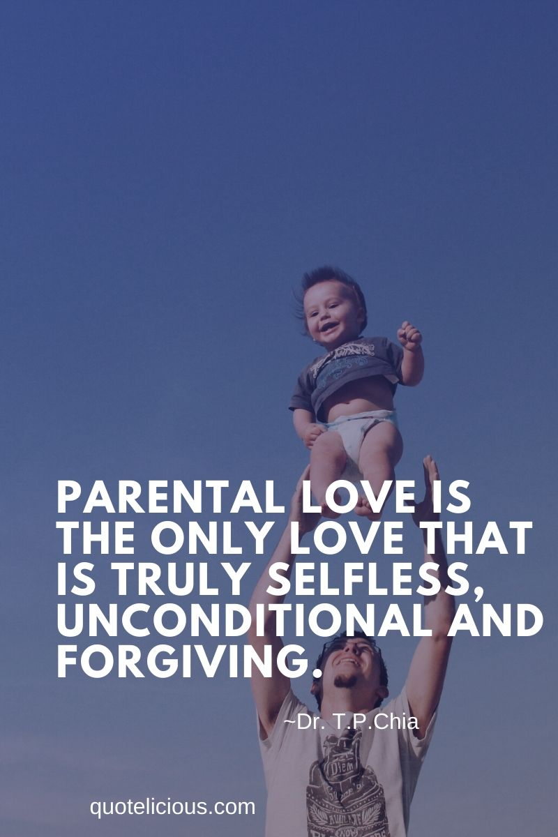 111+ [GREAT] Parents Quotes and Sayings on Love (With Images)