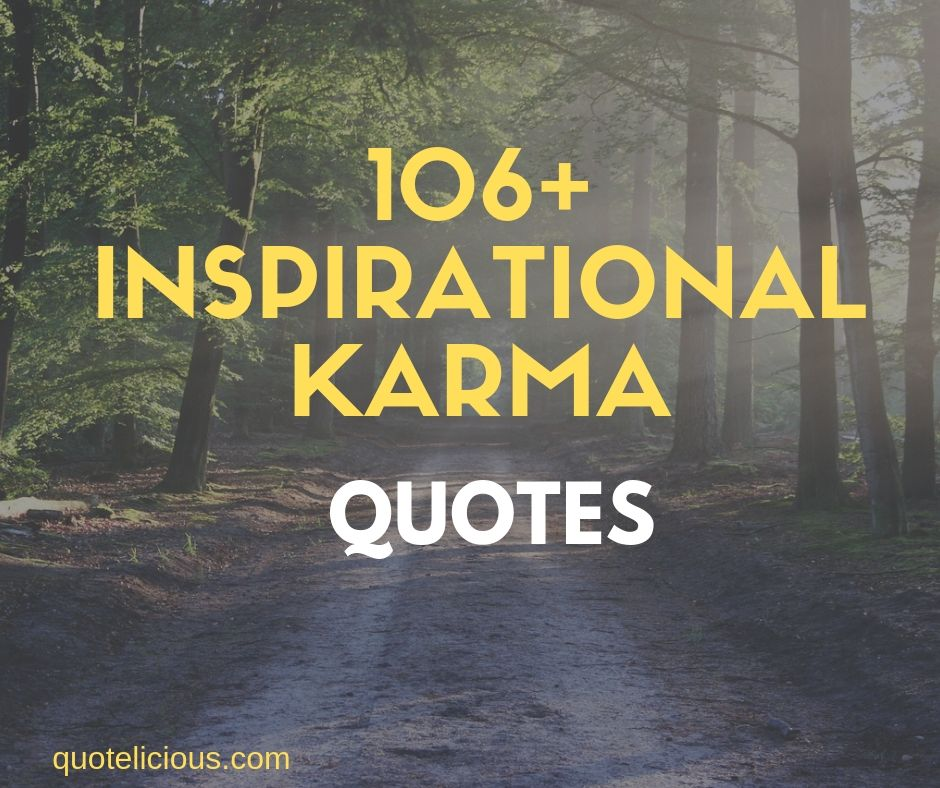 inspirational karma quotes and sayings images